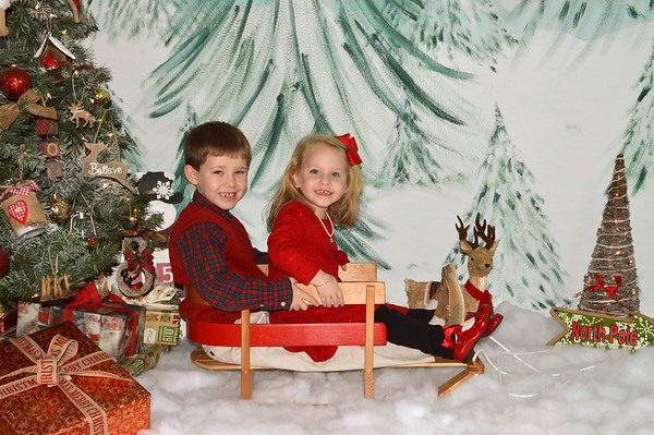 Easton & Everly (Christmas 2016)
