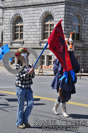 Ebune: the Procession of the Ram. A spring parade in Portland, Maine.