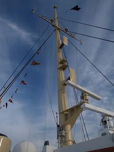 Aboard the Royal Yacht Britannia