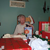 Grandma Alar opening her gifts