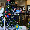 """IT'S A BIRD, IT'S A PLANE.....IT'S PEDI-FLITE"" sponsored by Mickey and Judy McLellan<br /> <br /> 1st Place for ""Best LeBonheur Tree"""