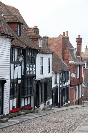 Ray, Mermaid street. Sinds de 14de eeuw nauwelijks veranderd.