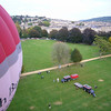 And we're off! The Bath balloon is just about to leave too
