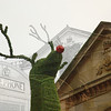 Covent Garden - Rudolf verdwaald.<br /> Oeps... een vergissing tijdens het nabewerken... maar ik vond het resultaat wel geinig.