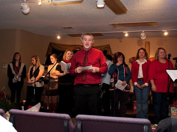 Erin's Church Christmas Program 2009