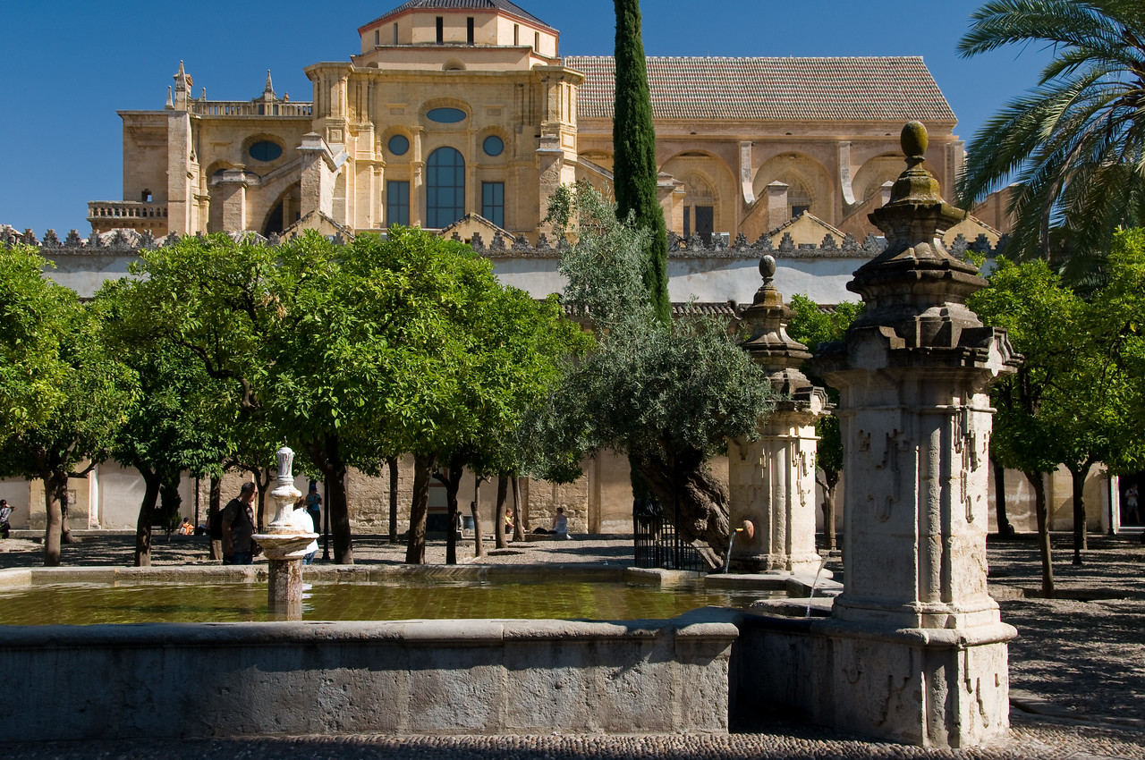 The mezquita cathedral, Cordoba, Spain