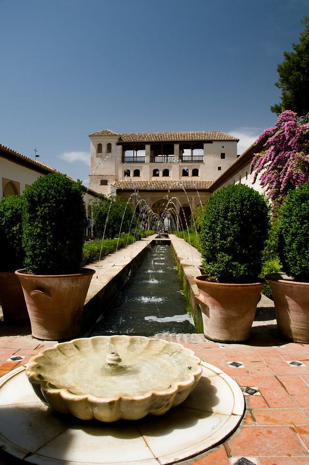 The gardens of Generalife