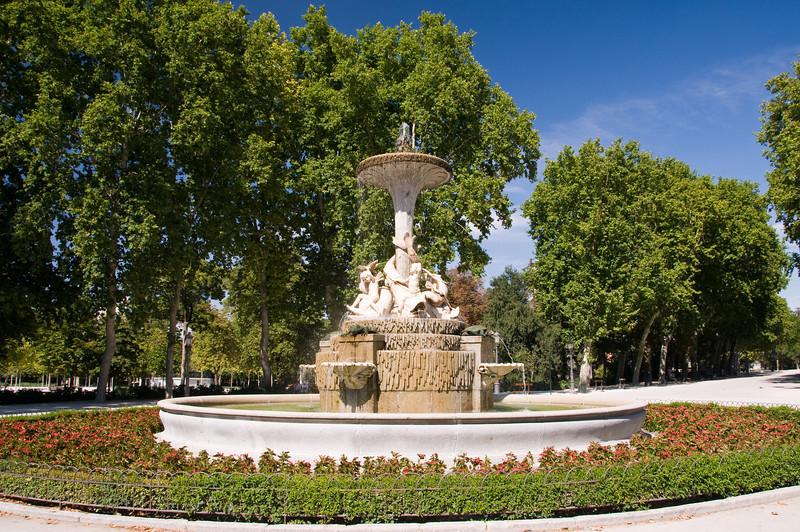 Plaza de Nicaragua, Madrid, Spain