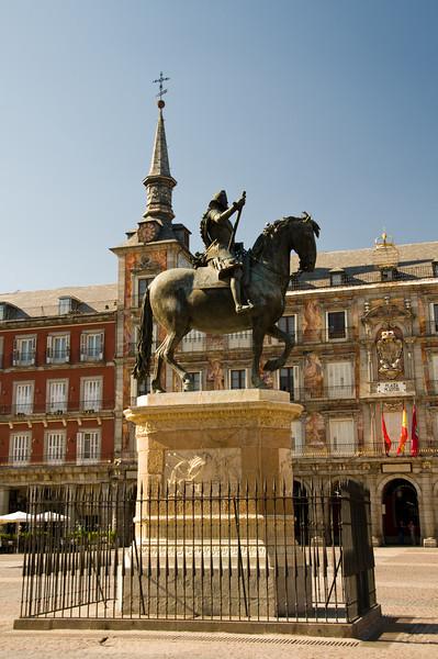 Plaza Mayor, Madrid Spain