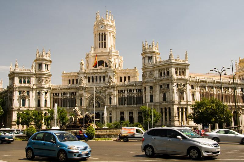 Post office, Madrid Spain