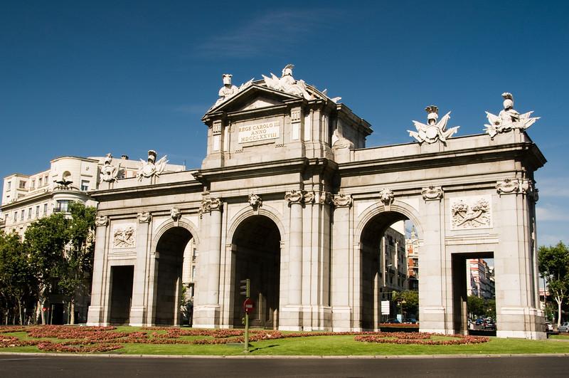 Plaza de independencia, Madrid Spain