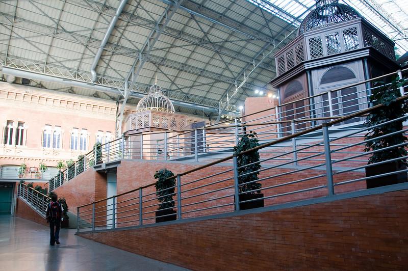Atocha station, Madrid, Spain
