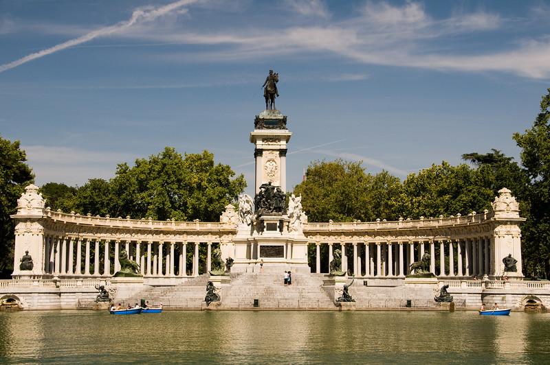 Monument AlfonsoXII, Madrid Spain