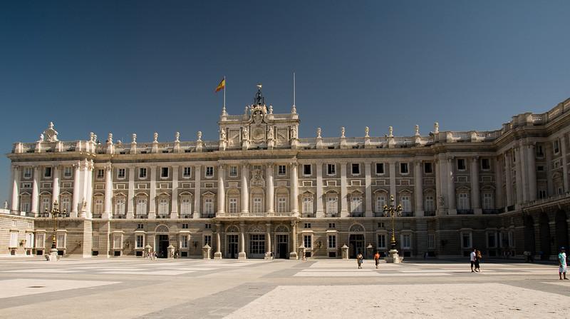 Royal palace, Madrid Spain