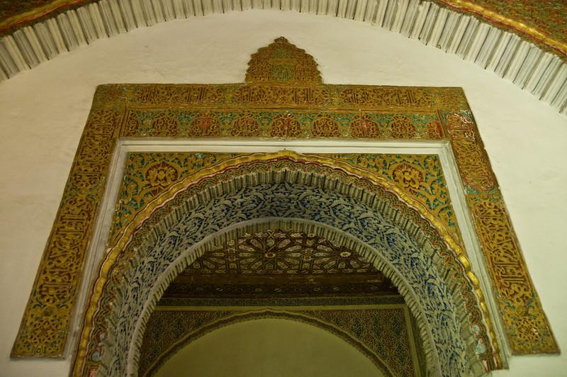Inside the alacazar, Sevilla, Spain.