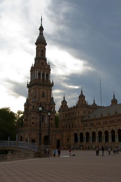 plaza de espa–a, Sebilla Spain.