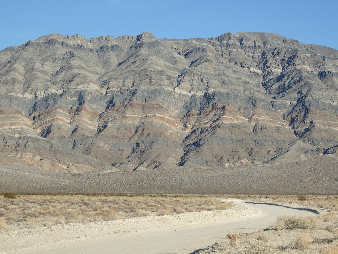 Another photo of the mountains. This is the Last Chance Range.