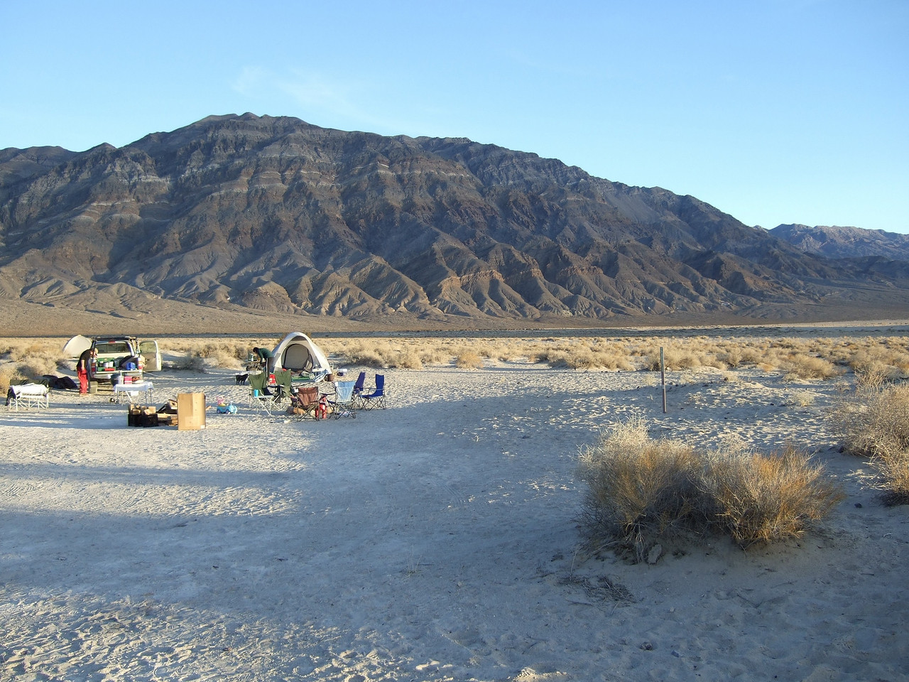 A view of our campsite.