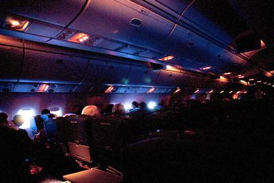 Flying to Paris