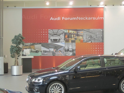 Audi Centre Neckarsulm 2 Aug 10