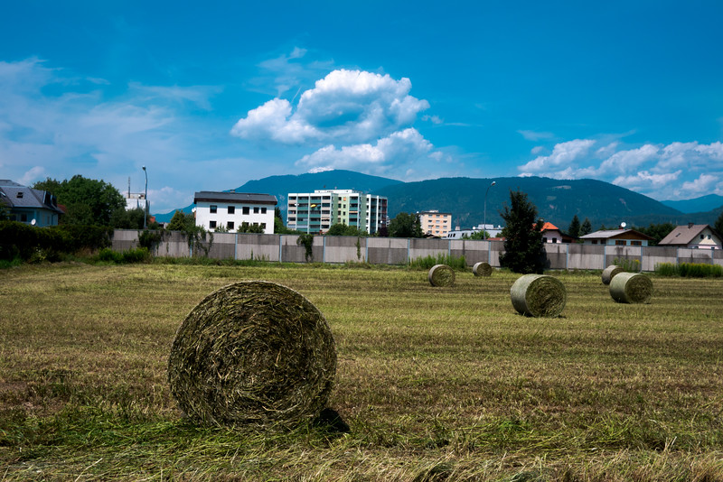 Field by Theresa's house, Villach