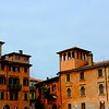 Captured one of the colorful building while walking on the streets of Verona