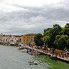 After visiting Verona, drove to Venice the same day. It was raining but I was still enjoying the view.