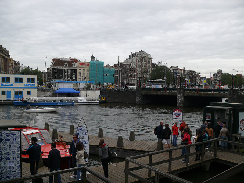 Looking across from Centraal.