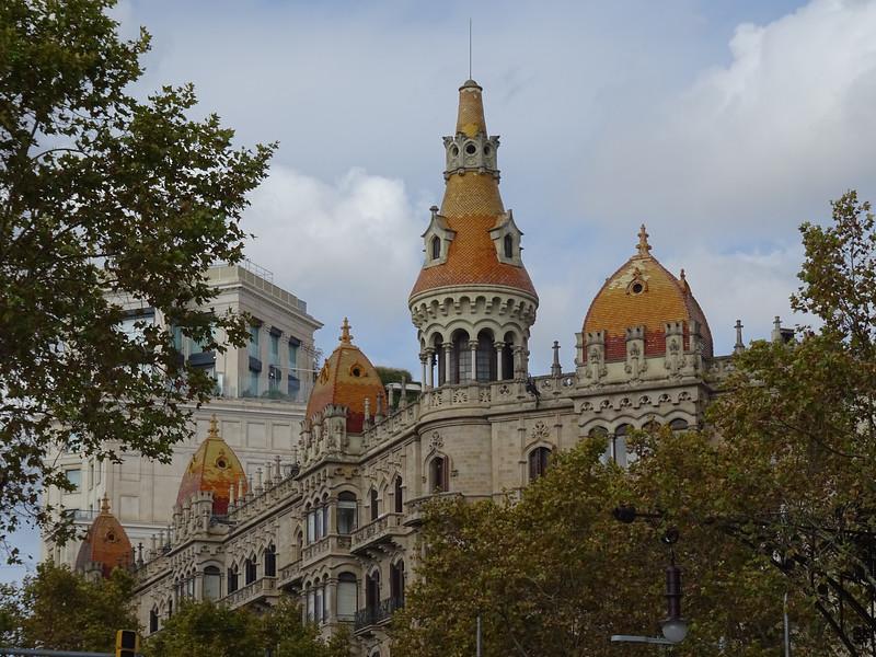 Some of Barcelona's impressive architecture