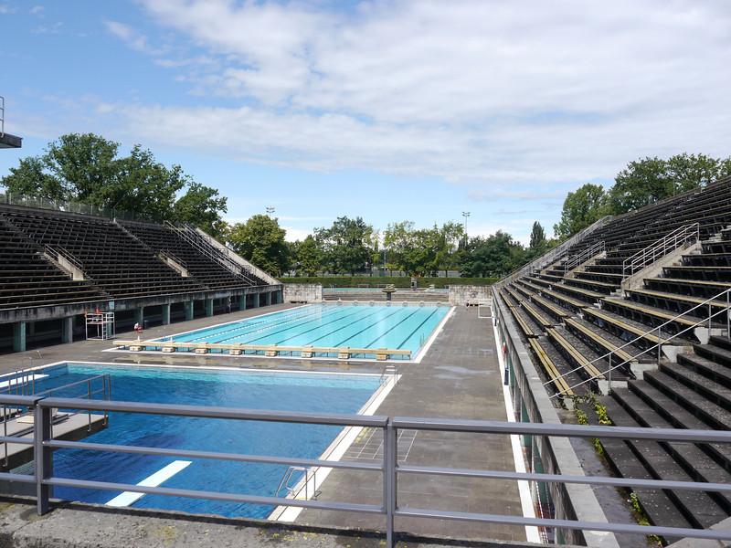 Olympic pool.