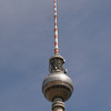 The Fernsehturm (TV Tower).