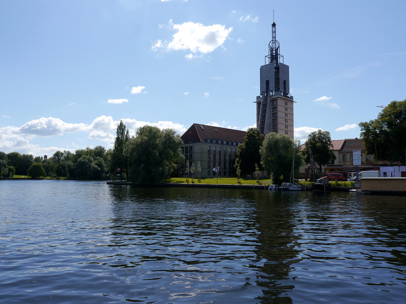 Cruise around Potsdam.