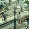 View of Alexander Platz from TV Tower.