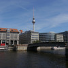 River Spree and TV Tower.