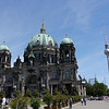Berlin Cathedral and TV Tower.