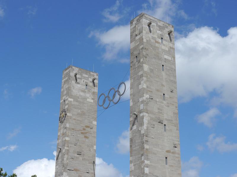 Olympic gate.