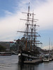 """JEANIE JOHNSTON, a replica 19th century sailing ship that is used as a training ship and a museum. More info <a href=""""http://www.jeaniejohnston.com/"""">here.</a>"""