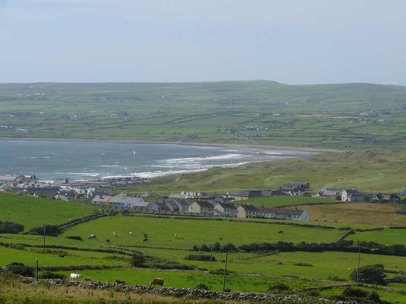 Lahinch from our cottage.