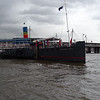 Floating restaurant PS Tattershall Castle on the Thames