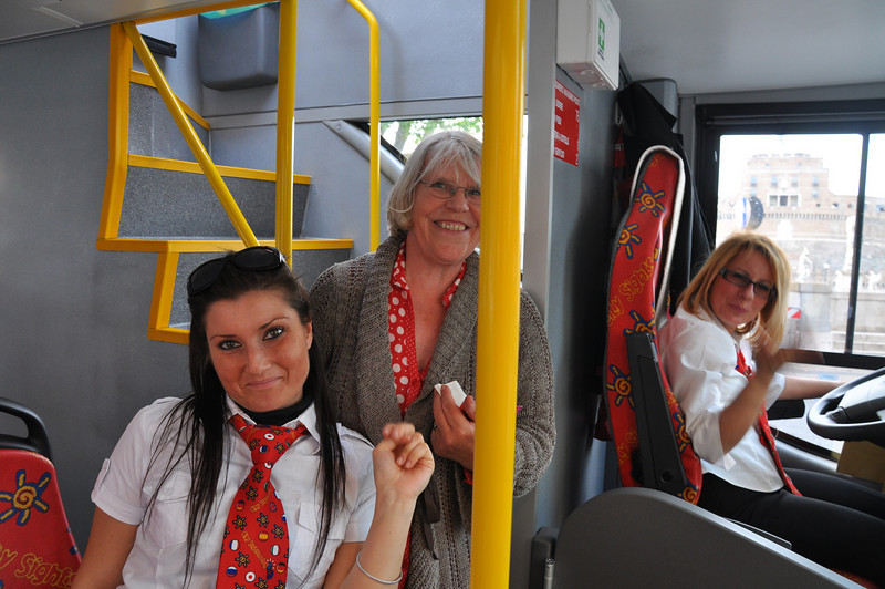 Bye bye to our favourite Rome bus crew