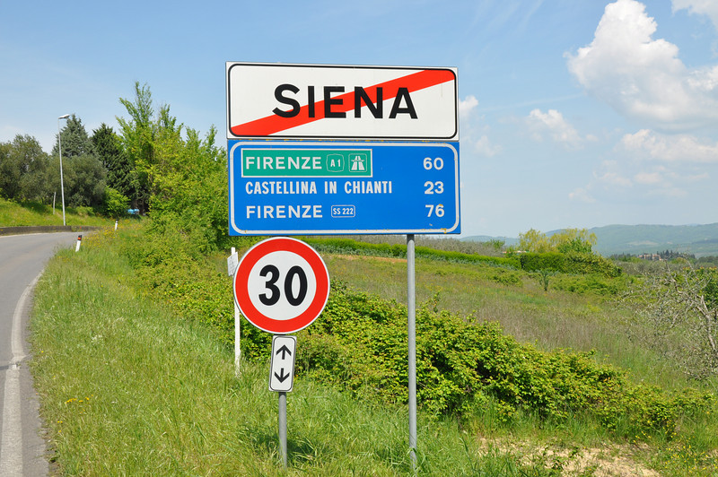 Bye bye to Sienna; Rome here we come