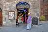 Gelato World Champion's shop in the main square of San Gimignano. And fantastic ice cream it was too