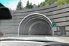 The Italian entrance to Mont Blanc tunnel