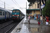 Catching the train from Desenzano at the south of Lake Garda to Verona