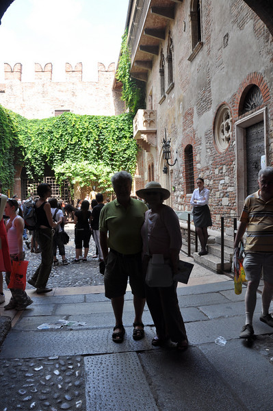 Verona. Romeo & Juliet were here