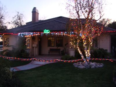 Ext. Christmas Lights, 2011