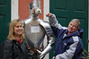 Punching the Knight and Dog in Bernkastel-Kues