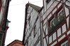 Crooked Roof on old Timber House in Bernkastel-Kues