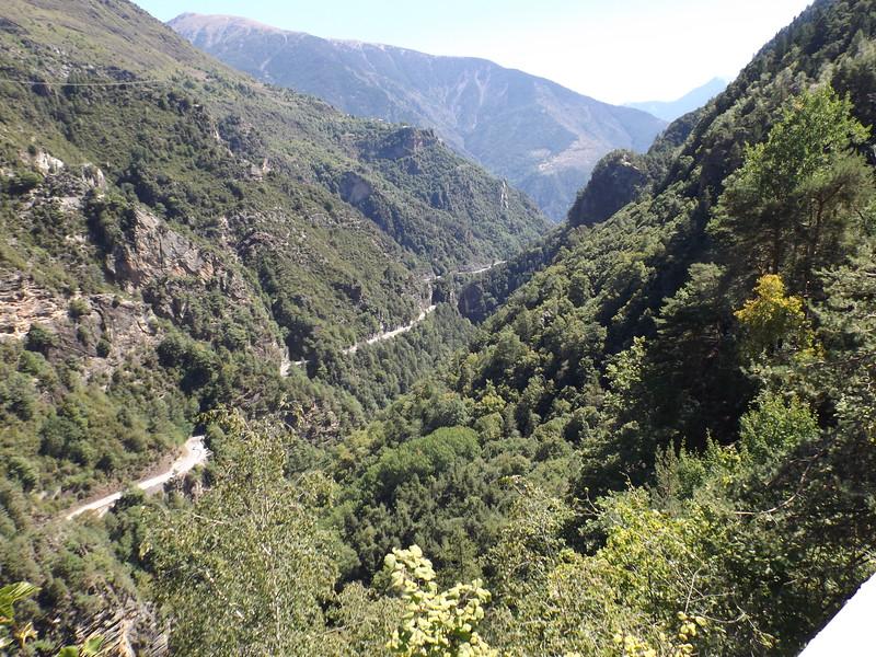 Vallée de la VIONENE, vers St SAUVEUR sur TINEE