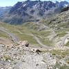 Descente vers le Col du LAUTARET